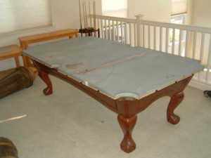 Proper pool table moving process in San Marcos Texas